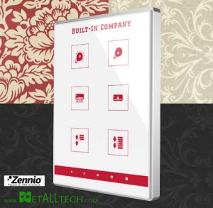 smart home knx touch panel tmd