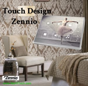 smart home knx zennio touch my design