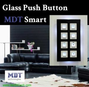 mdt knx smart lighting switch crystal