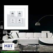 mdt knx smart touch panel crystal