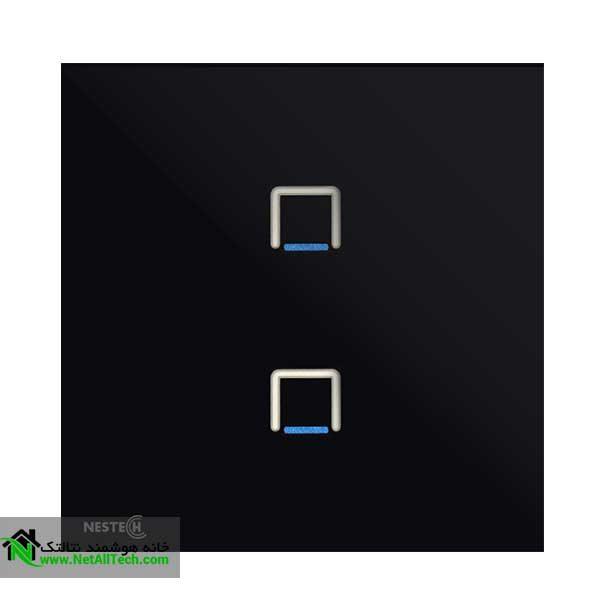 wall touch switch nestech 2gang